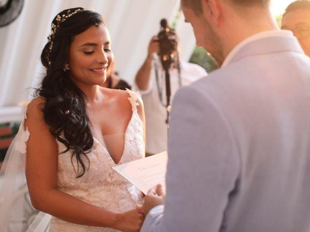 El matrimonio de Christian  y Lorena  en Santa Marta, Magdalena 11