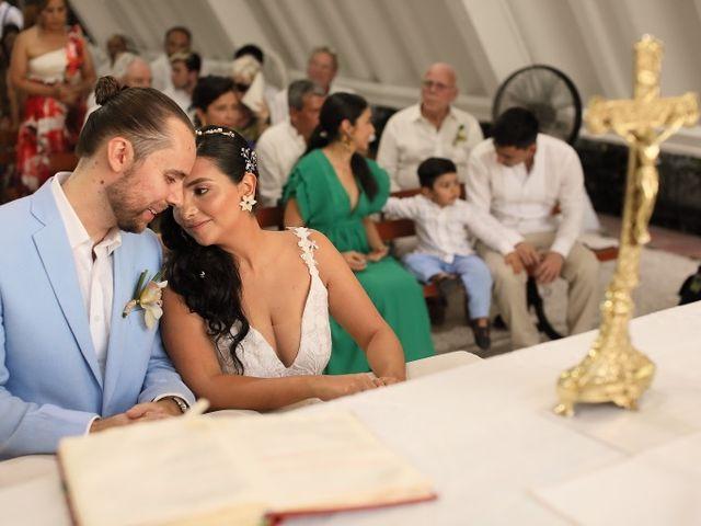 El matrimonio de Christian  y Lorena  en Santa Marta, Magdalena 13