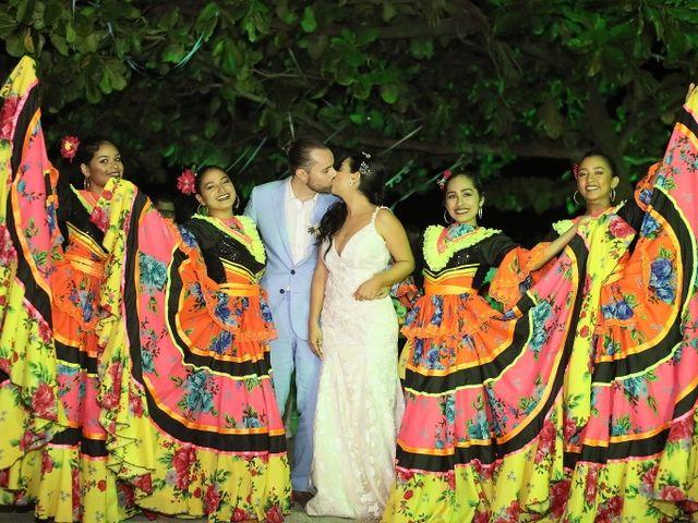 El matrimonio de Christian  y Lorena  en Santa Marta, Magdalena 15