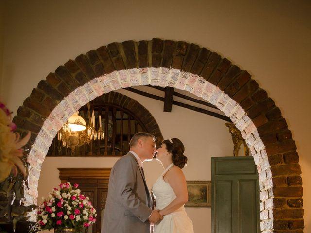 El matrimonio de Marlon   y Maria Lucia en Chía, Cundinamarca 25