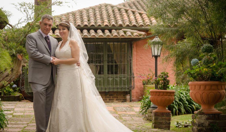 El matrimonio de Marlon   y Maria Lucia en Chía, Cundinamarca