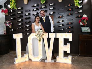 El matrimonio de Cesar Julián  y Adriana  1