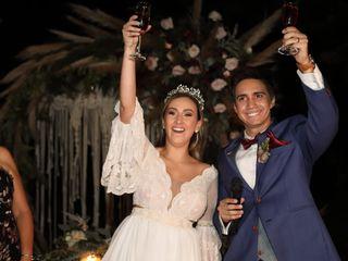 El matrimonio de Pedro y Sara