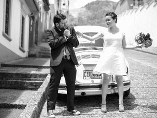 El matrimonio de Daniela y Jota
