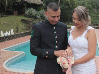 El matrimonio de Luisa y Edwin