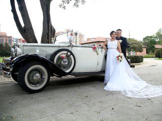 El matrimonio de Wendy y Ivan
