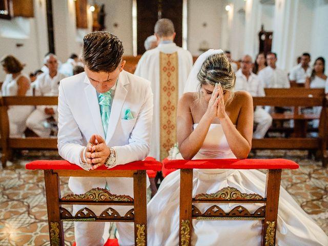 El matrimonio de Jhon Gonzalez  y Andrea Londoño  en Cartagena, Bolívar 3