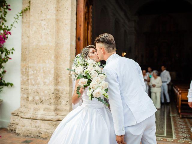 El matrimonio de Jhon Gonzalez  y Andrea Londoño  en Cartagena, Bolívar 4