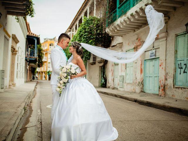 El matrimonio de Jhon Gonzalez  y Andrea Londoño  en Cartagena, Bolívar 7