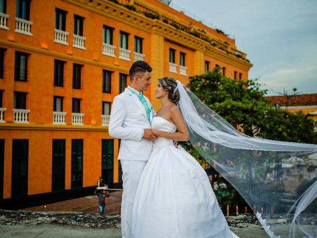 El matrimonio de Jhon Gonzalez  y Andrea Londoño  en Cartagena, Bolívar 8