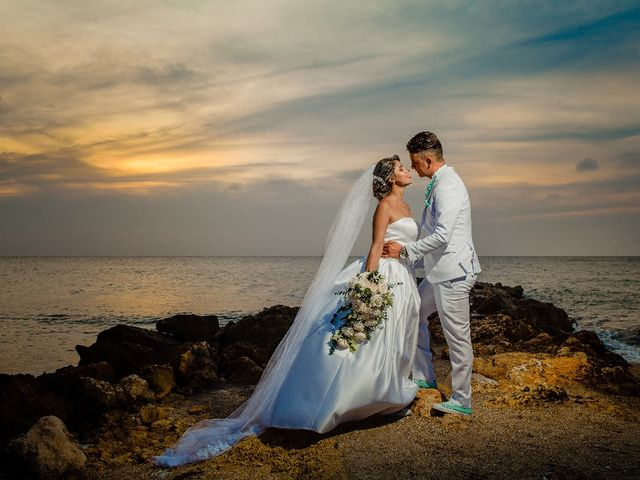 El matrimonio de Jhon Gonzalez  y Andrea Londoño  en Cartagena, Bolívar 9