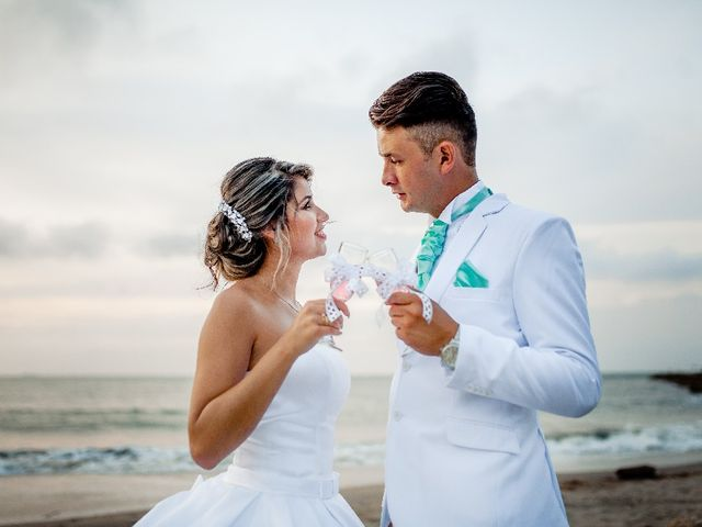 El matrimonio de Jhon Gonzalez  y Andrea Londoño  en Cartagena, Bolívar 10