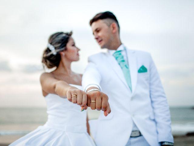 El matrimonio de Jhon Gonzalez  y Andrea Londoño  en Cartagena, Bolívar 11