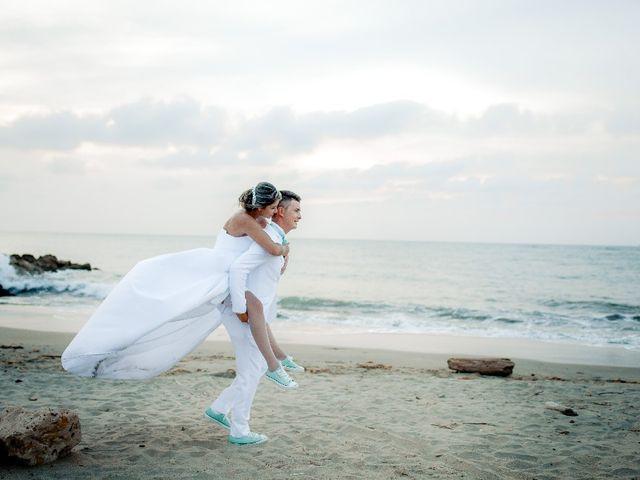 El matrimonio de Jhon Gonzalez  y Andrea Londoño  en Cartagena, Bolívar 12