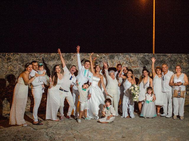 El matrimonio de Jhon Gonzalez  y Andrea Londoño  en Cartagena, Bolívar 13