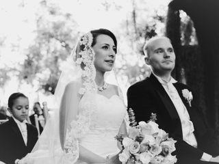 El matrimonio de Corey y Marcela