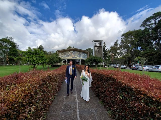 El matrimonio de Natalia y Laurent