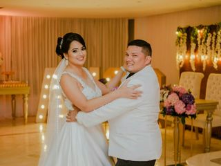 El matrimonio de Auristela  y Oswaldo  3