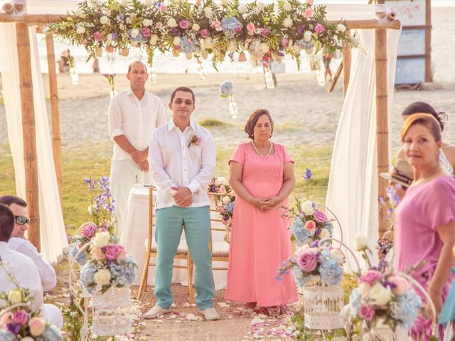 El matrimonio de Nestor y Nancy en Santa Marta, Magdalena 17