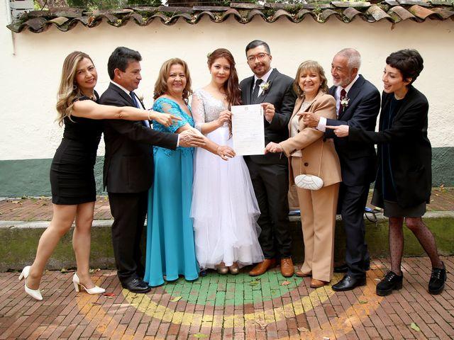 El matrimonio de Jeimy y Manuel en Bogotá, Bogotá DC 12