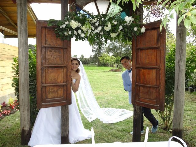 El matrimonio de Carlos y Diana en Madrid, Cundinamarca 1