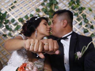 El matrimonio de Marcela y Hector
