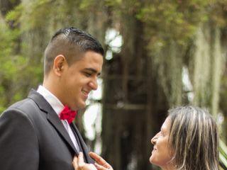 El matrimonio de Alexandra y Andrés 1