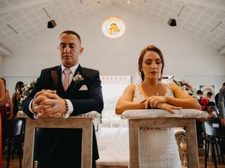 El matrimonio de Yeimi y Gustavo