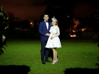 El matrimonio de Alexandra y Juan Sebastian