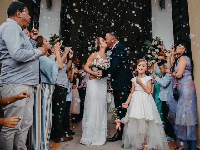 El matrimonio de Gustavo y Yeimi en Rionegro, Antioquia 24