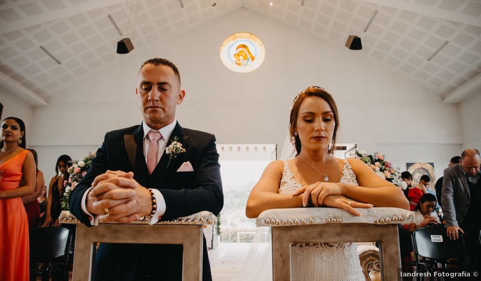 El matrimonio de Gustavo y Yeimi en Rionegro, Antioquia