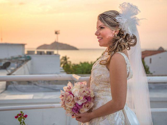 El matrimonio de Andres y Vanessa en Santa Marta, Magdalena 9