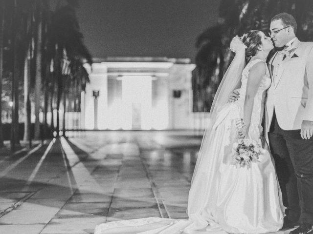 El matrimonio de Vanessa y Andres