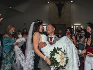 El matrimonio de Andrés y Jessica