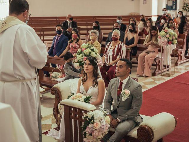 El matrimonio de Jessica y Andrés en Cali, Valle del Cauca 21