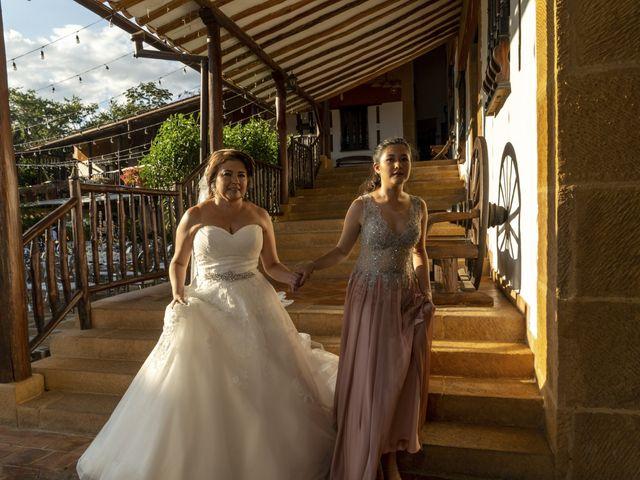 El matrimonio de Liliana y Diego en Barichara, Santander 12