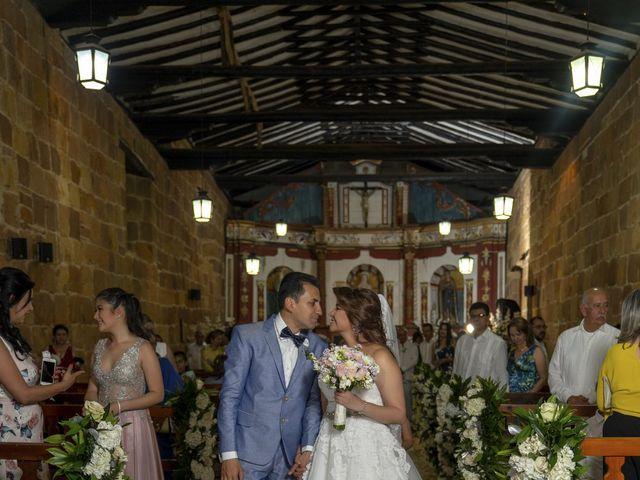 El matrimonio de Liliana y Diego en Barichara, Santander 17