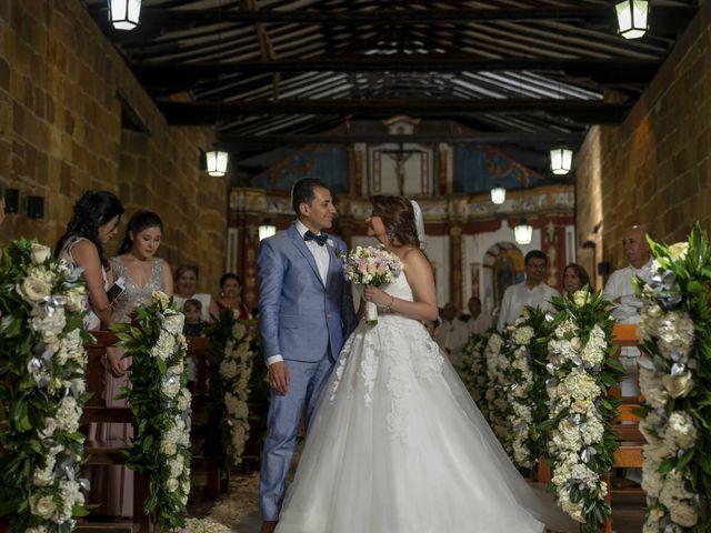 El matrimonio de Liliana y Diego en Barichara, Santander 18