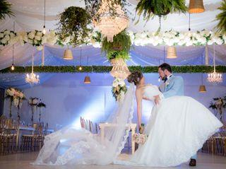 El matrimonio de Andrea y Javier