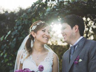 El matrimonio de Daniela y Santiago