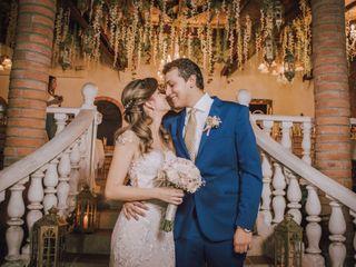 El matrimonio de Sofía y Christian