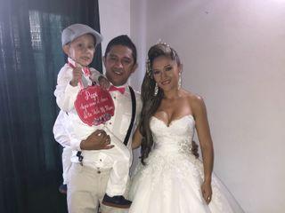 El matrimonio de Diego y Sory