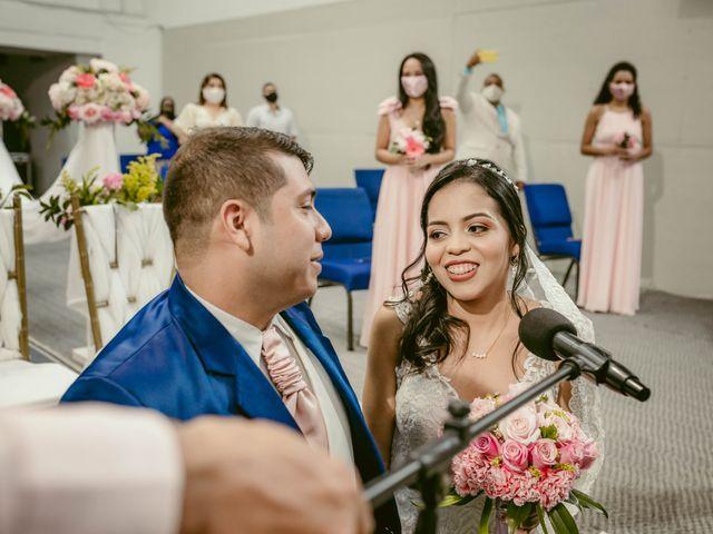 El matrimonio de Edwin y Jessica en Santa Marta, Magdalena 11