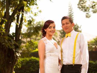 El matrimonio de Laura Gómez y Andres Mastarreno