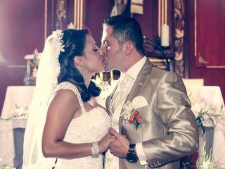 El matrimonio de Alejandra y Adrian