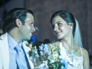 El matrimonio de Aura María y Juan Manuel