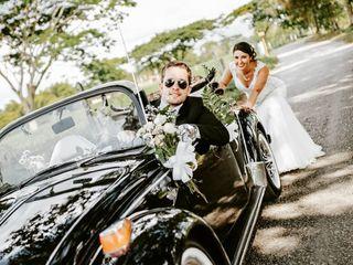 El matrimonio de Natalia  y Gustavo  1