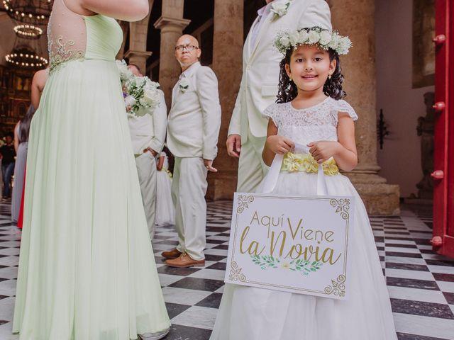 El matrimonio de Javier y Adriana en Cartagena, Bolívar 1