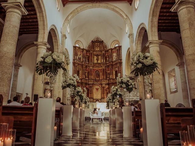 El matrimonio de Javier y Adriana en Cartagena, Bolívar 4