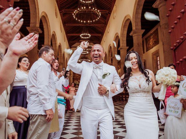 El matrimonio de Javier y Adriana en Cartagena, Bolívar 5